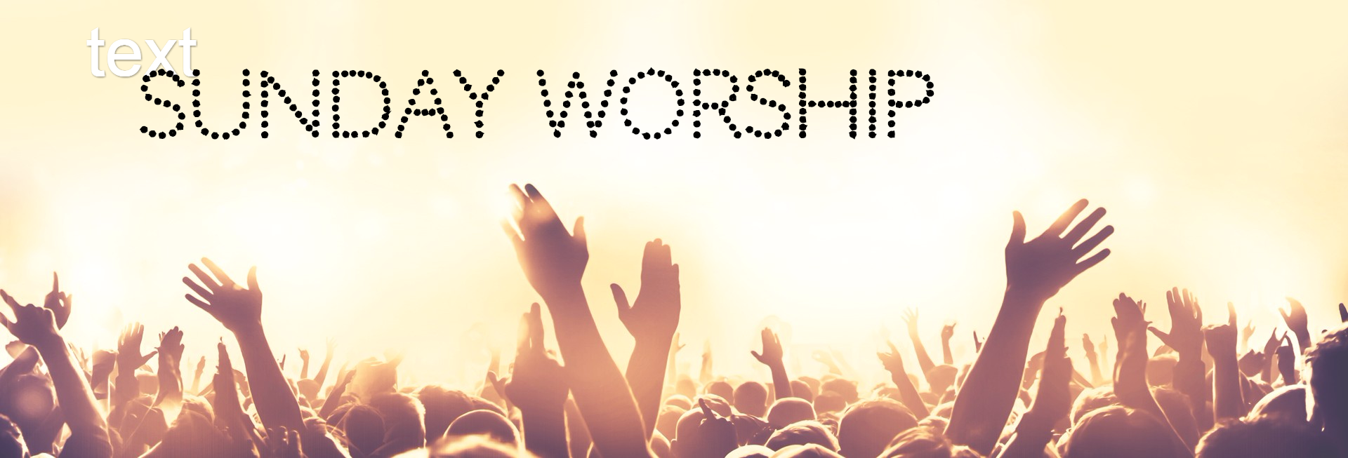National Day of Prayer Worship Church Website Banner
